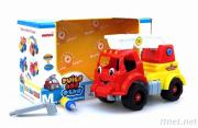 Diy Cartoon Fire Truck