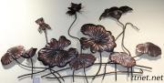 Wall Art/ Decorative Wall Art/ Iron Vase