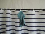 Shower Curtain Hookless Bathroom Accessories Printing Polyester