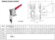 래치 손잡이 토글 죔쇠 LD-40324