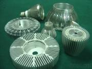 Customized Aluminium Profiles Radiator And Heat Sink For LED Lamps And Lighting