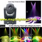 RGB Color Mixing LED Gobo Moving Head Spot Light