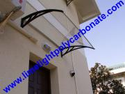 Polycarbonate DIY Awning, Door Canopy, Polycarbonate Awning, DIY Awning