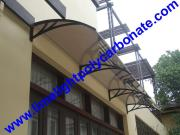 Polycarbonate Awning, Door Canopy, Window Awning, DIY Awning, Door Awning