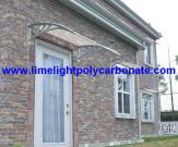 DIY Awning, Door Canopy, Window Awning, Polycarbonate Awning