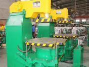 Z143 Jolt Squeeze Molding Machine For Casting