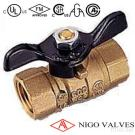 2-piece Forged Brass Ball Valves