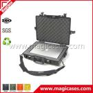 Shockproof Waterproof Pelican Style Fiberglass Plastic Portable Laptop Case