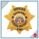 EMBROIDERY PATCH - OFFICER RICHLAND