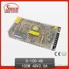 100W Single Output Switching Power Supply 12V 15V 24V 48V