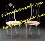 アクリルの食事の椅子