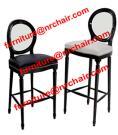 アクリル及び木のビクトリア幻影棒椅子