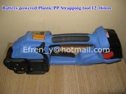 DD160 Battery Powered PP Plastic Welding Strapping Tool