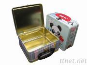 scatola di pranzo su ordinazione della latta
