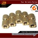 precision CNC machining copper screw nut, drawing welcome
