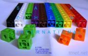 Linking Cubes, 2CM, 1000 PCS