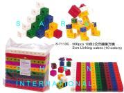 2Cm Linking Cubes, 500 PCS