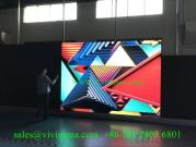 Vivisoma indoor P2.97 time saving installation rental led display