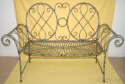 Metal Antique Iron Chair Furniture