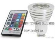 LED Gu10 Mr16 RGB Spotlight 3W LED Bulb