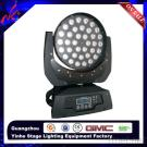36Pcs*10W 4In1 Zomming LED Wall Washer Moving Head
