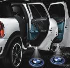 LED Car 3D Logo Laser Door Lights For 12V/24V