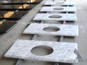 Italy Carrara White Marble vanity top