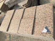 Maple red granite paving stone