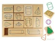 Educational Wooden Stamp, Education