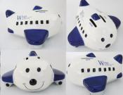 Ceramic Plane Money Bank