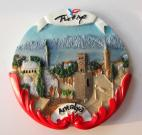 Turkey Wall Polyresin Fridge Magnet