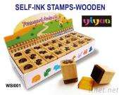 WSI001 Wooden Stamps
