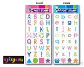 PS023 Alphabets Post Stamp