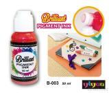 Leuchtende Pigment-Tinte
