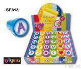 Alphabet-Selbst-Einfärbender Stempel