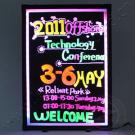 new products for 2010 LED writing board for Christmas day