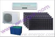 24v 48v fuori dal tipo condizionatori d'aria solari di griglia di CC di 100% con la fonte di energia solare