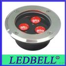 3W LED Inground Buried Lights Uplighter Stainless Steel Led Underground Lights