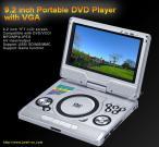 9.2 inch Portable DVD