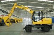 Hydraulic Wheel Excavator For Sale