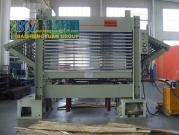 Veneer Drying Hot Press