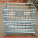 Collapsible Folding Metal Storage Cages With Wheels