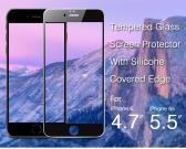 0.2Mm Ultra Thin Silicone Edge Design Cell Phone Screen Protector For IPhone