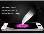 0.2Mm Thickness New Full Coverage Clear Real Tempered Glass Screen Protector For Cellphone
