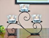 Candelabra Metal Candle Holder For Home Decoration