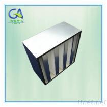 De v-bank combineerde de Compacte Filter van de Lucht HEPA