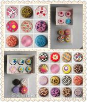 Kuchen-Zwischenlage-Geschenk-Kasten