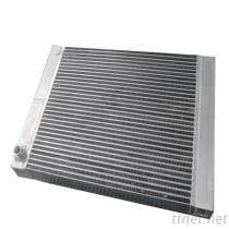 Warmtewisselaar van de Bar van de Plaat van het aluminium de Luchtgekoelde, Lucht-Olie Koeler voor de Compressor van de Lucht