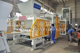 Concreet Blok QFT die 9-18 Machine maken