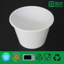 Microwaveable & contenitore di alimento di plastica congelabile con 1750Ml glassato